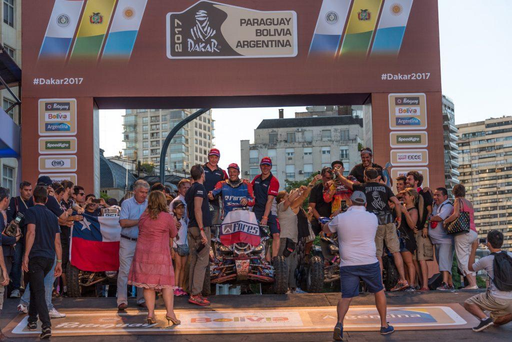 Дакар 2017 Dakar Сергей Карякин награждение