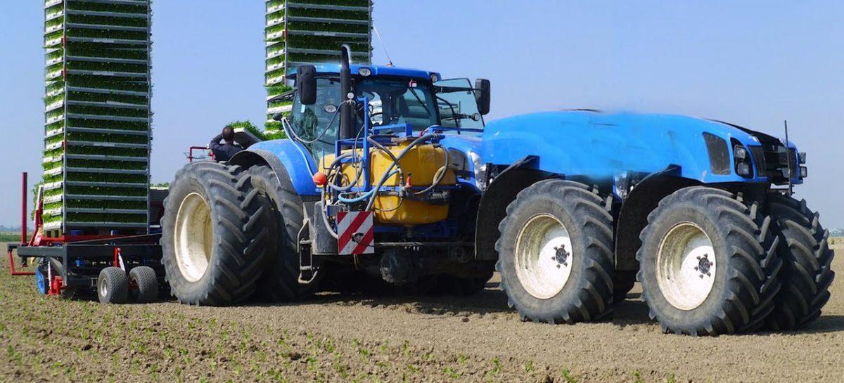 Современное сельское хозяйство Австрии — мега машины, тракторы, комбайны