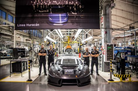 Больше 200 гоночных суперкаров в течение двух лет