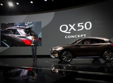 Премьера в Детройте — концепт INFINITI QX50