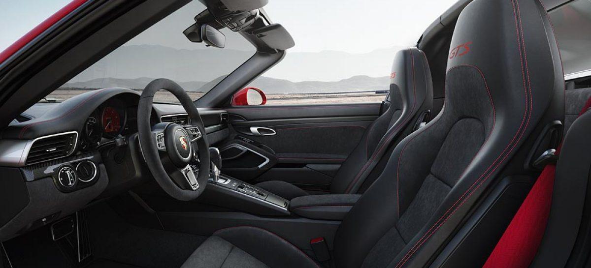 Новые модели Porsche 911 GTS