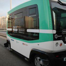Автобусы без водителей начали перевозить пассажиров между вокзалами Парижа