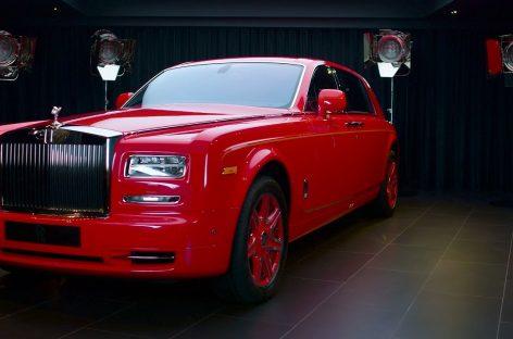 Rolls-Royce представил Phantom Gold — эксклюзивный автомобиль для  отеля «THE 13» в Макао