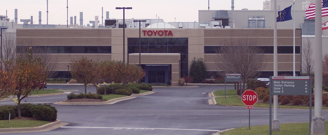 Toyota_Motor_Manufacturing_Indiana_Front_Entrance