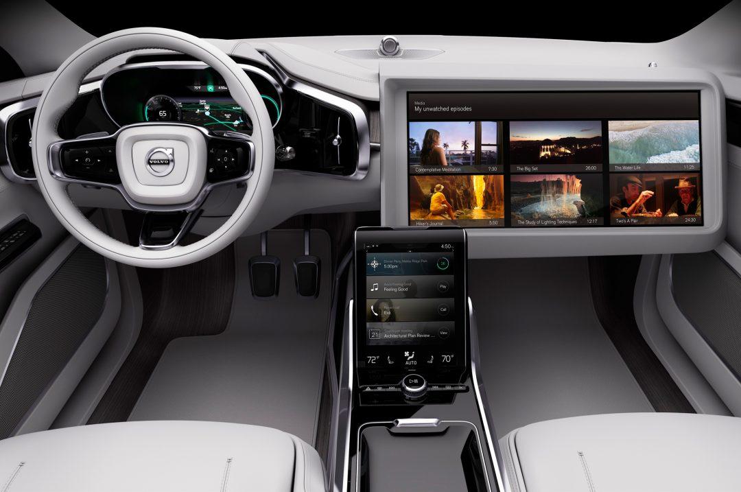 Volvo Concept 26 Интерьер