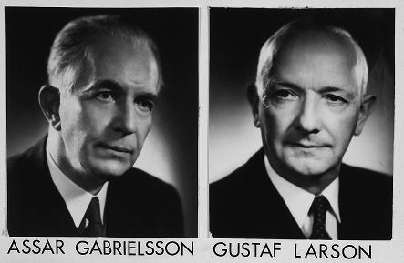 Ассар Габриэльсон Густав Ларсон Volvo