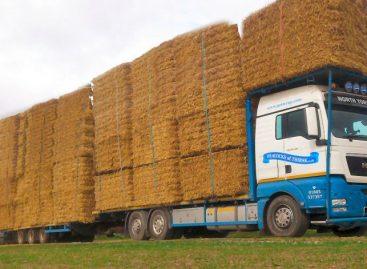 Автоматический сбор и упаковка сена на полях