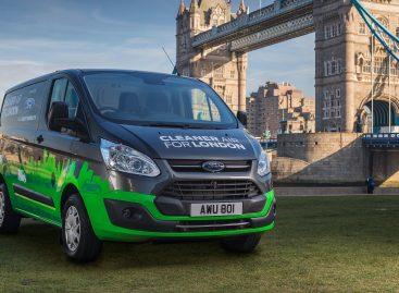 Ford проведет испытания гибридных Transit в Лондоне