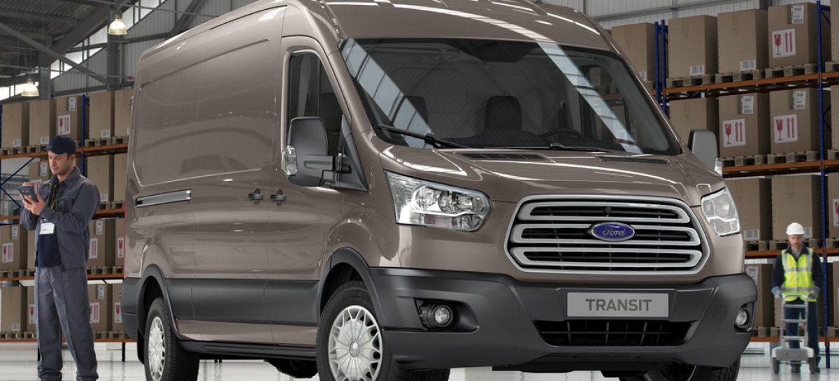 Ford Transit – лидер коммерческого сегмента в России