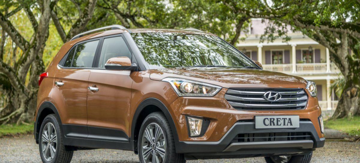 Hyundai Creta вырвал у Renault Duster звание лидера сегмента SUV в РФ