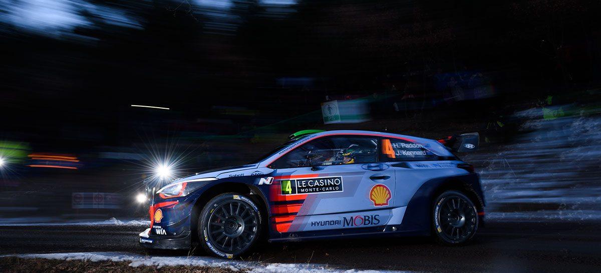 Hyundai i20 Coupe WRC готов к гонке на Ралли Монте-Карло