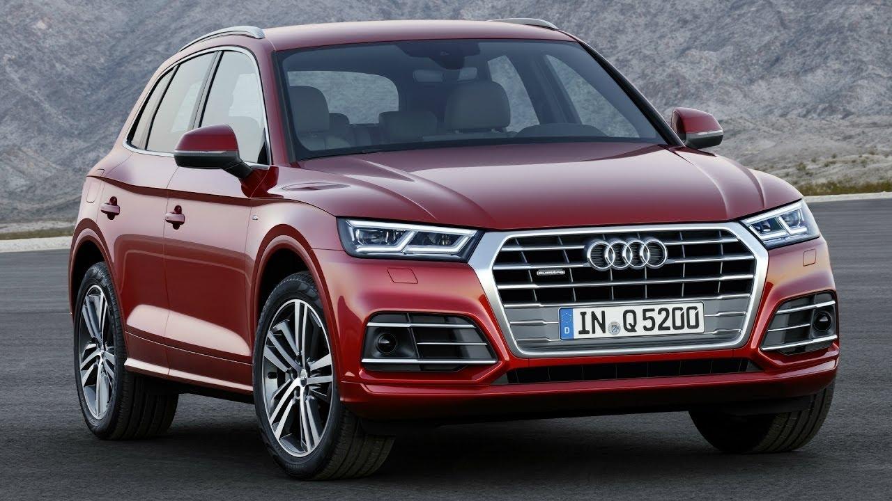 Audi Q5 2.0 TFSI quattro Garnet Red