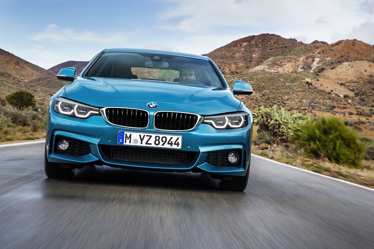 New BMW 4 series 4