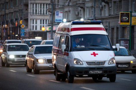 Авария с участием скорой: есть пострадавшие