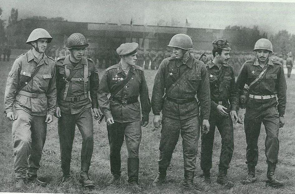 солдаты ОВД