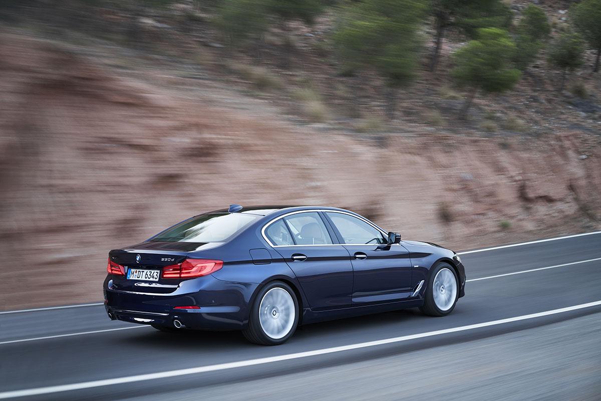 New BMW 5 series 1