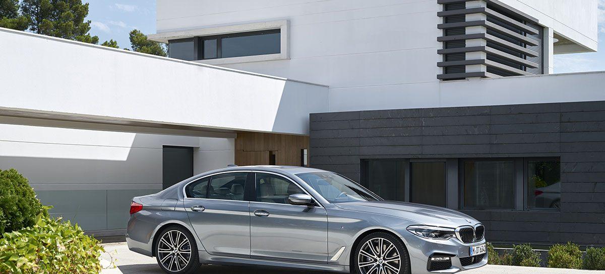 Российские цены на новый BMW 5 Серии