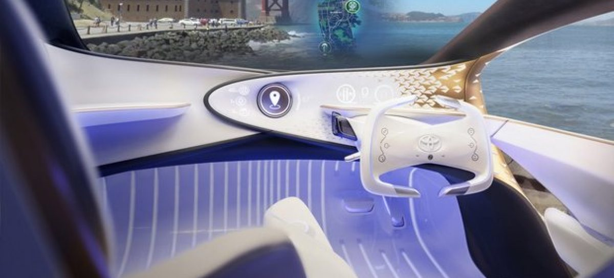 Toyota Concept-i: таким бы мог быть автомобиль от Apple?