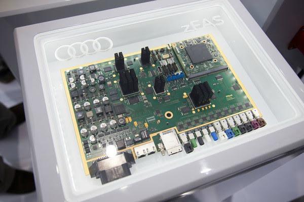 Mobileye контроллер zFAS
