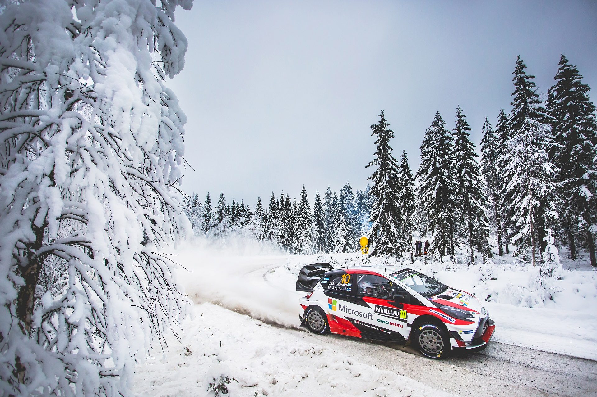 FIA WORLD RALLY CHAMPIONSHIP 2017 -WRC Sweden (SWE) -  WRC 09/02/2017 to 12/02/2017 - PHOTO : @World