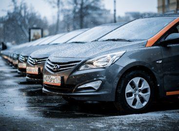 Hyundai поддержал питерский каршеринг