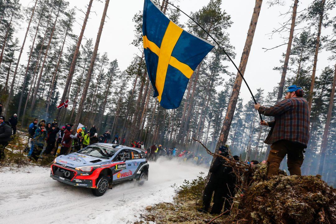 2016 FIA World Rally Championship / Round 02 /  Rally Sweden // 12th - 14th February, 2016 // Worldwide Copyright: Hyundai Motorsport