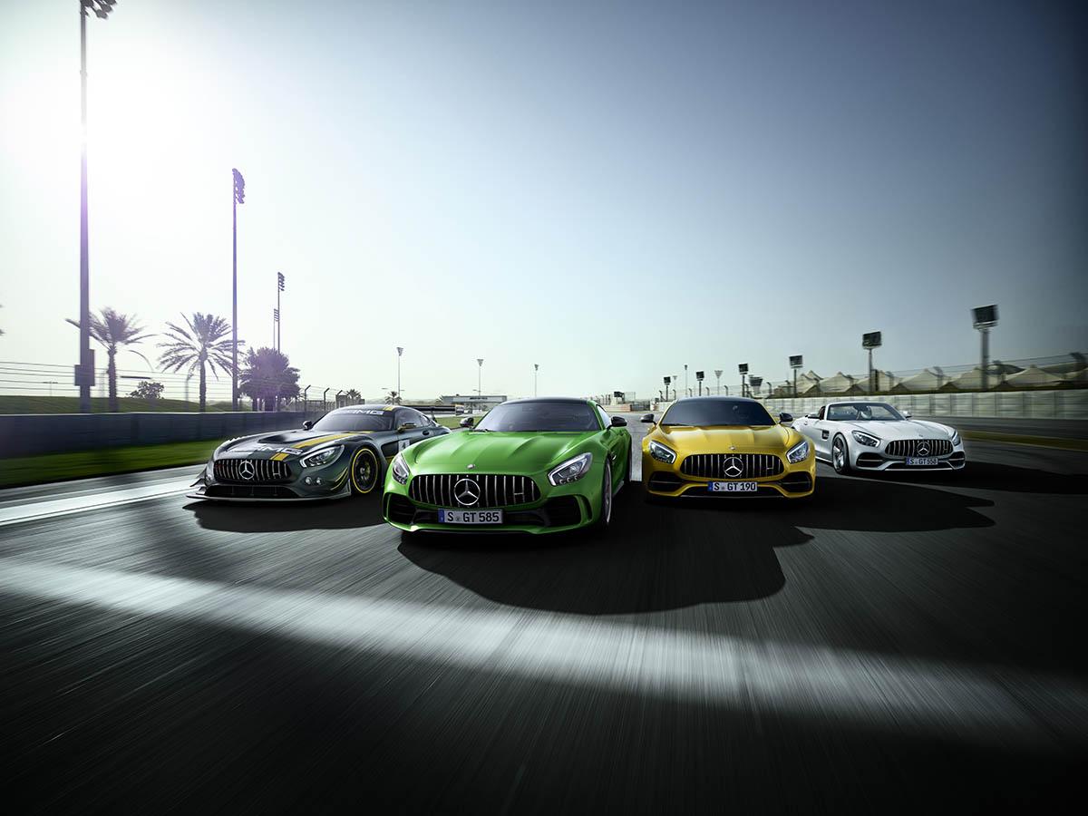 Mercedes-AMG GT Familie.