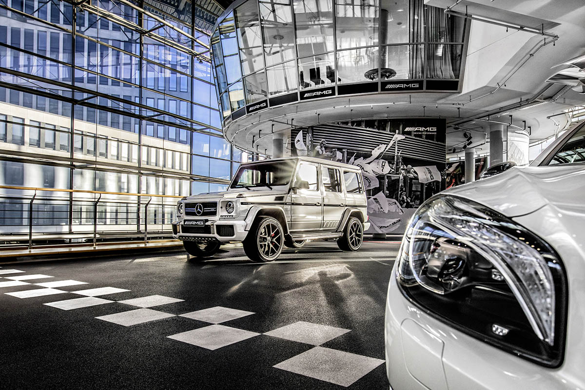 Mercedes-AMG Performance Center Berlin.