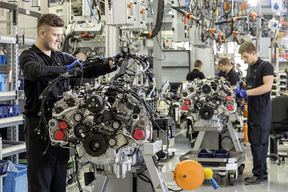 Mercedes-AMG V8-Motorenmanufaktur