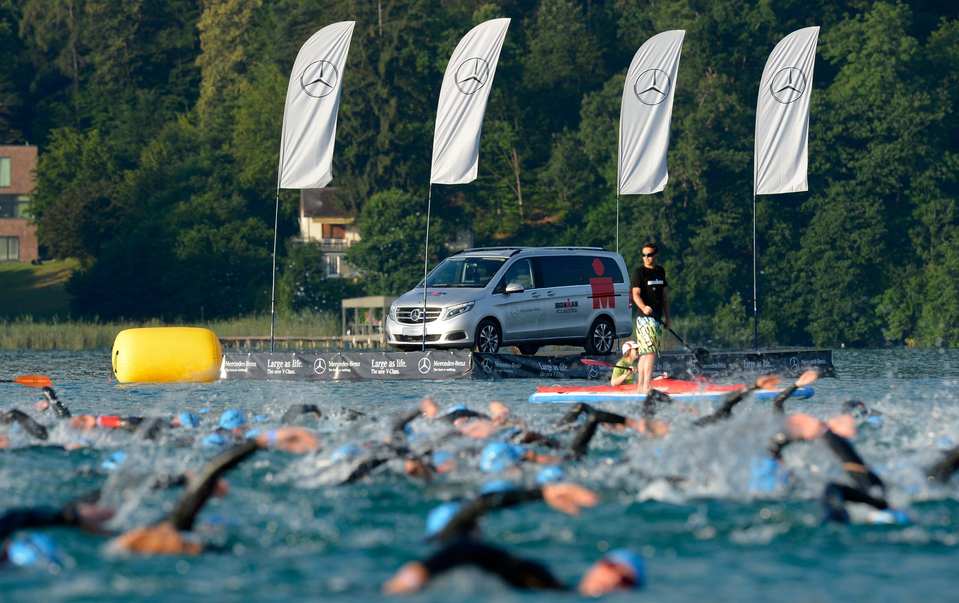 Mercedes-Benz Vans is supporting the triathlon for the fourth season running in 2017.;