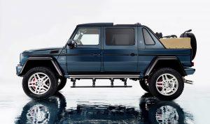Mercedes-Maybach G 650 Landaulet; *Fuel consumption combined: 17.0 l/100 km, CO2 emissions combined: 397 g/km