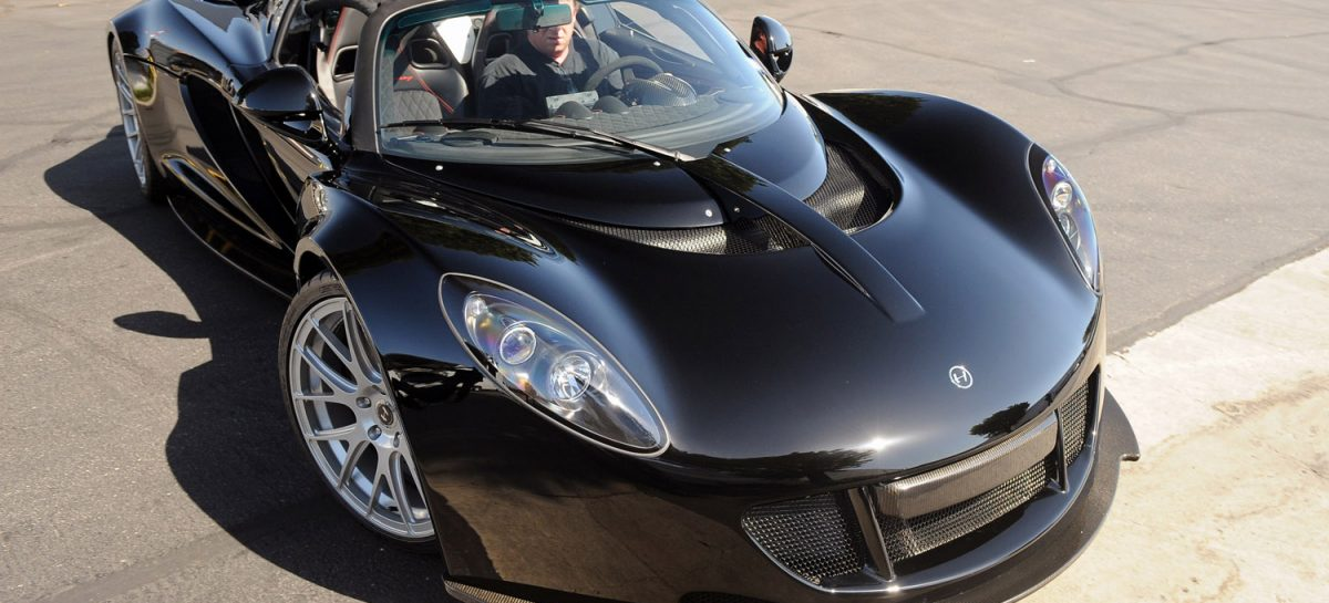 Hennessey Venom GT Spyder Стивена Тайлера поможет жертвам насилия
