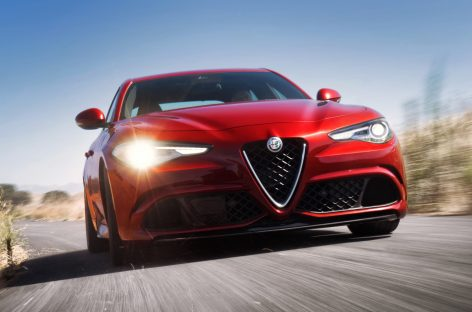 Alfa Romeo Giulia Sprint Coupe для Женевы
