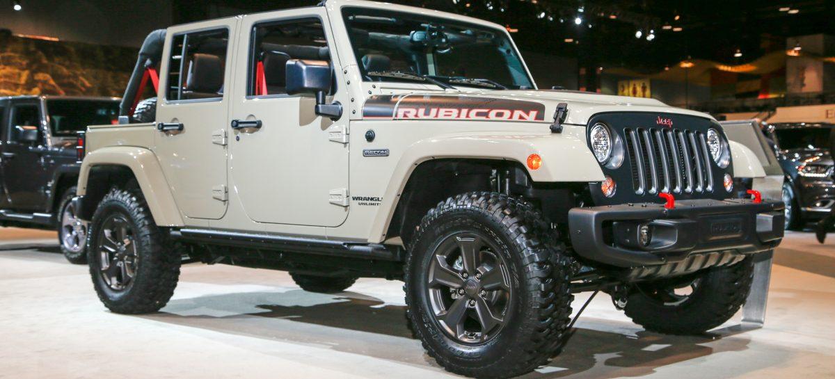 Новый Jeep Wrangler Rubicon Recon представили в Чикаго