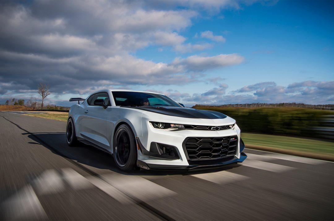 Chevrolet нагнетает 2018 Chevrolet Camaro Zl1 1le Amsrus