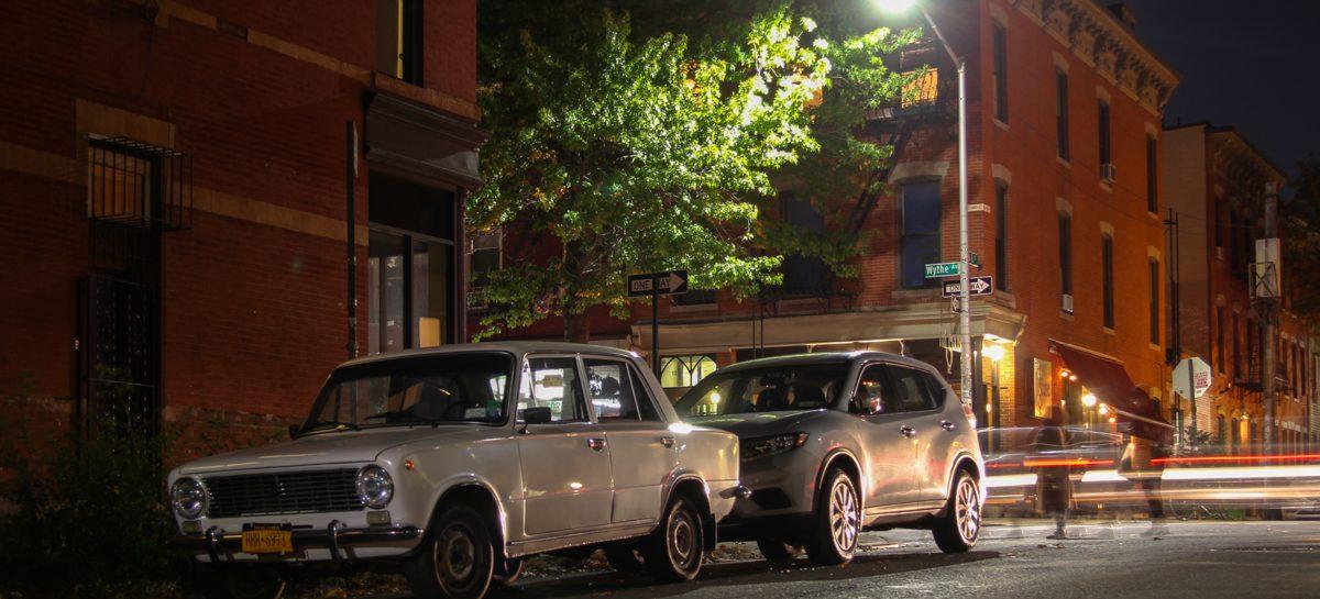 Старые автомобили на улицах Нью-Йорка — 28
