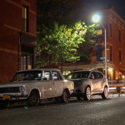 Старые автомобили на улицах Нью-Йорка - 28