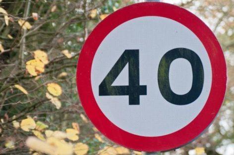 Фактически допустимая скорость будет снижена