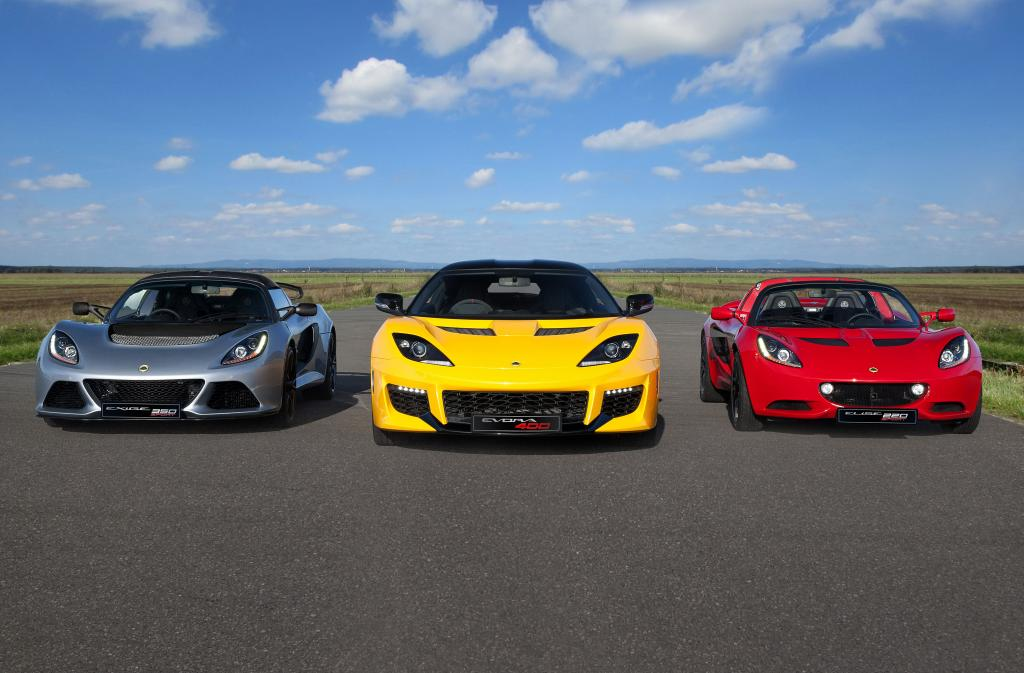 Lotus-cars-range