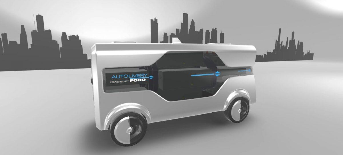 Ford представляет собственную автономную службу доставки