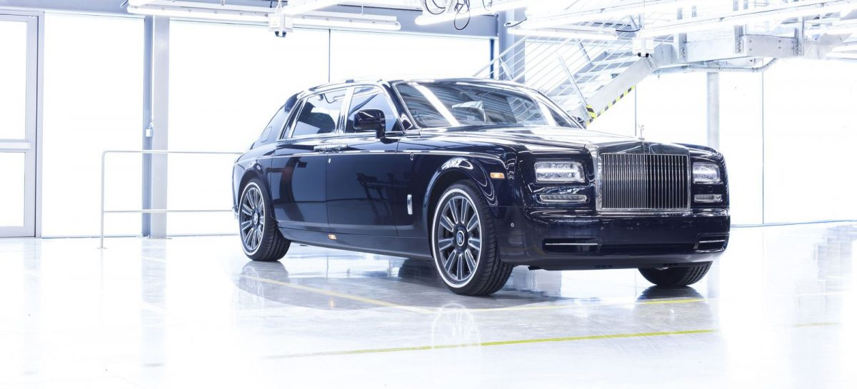 Последний Rolls-Royce Phantom сошел с конвейера