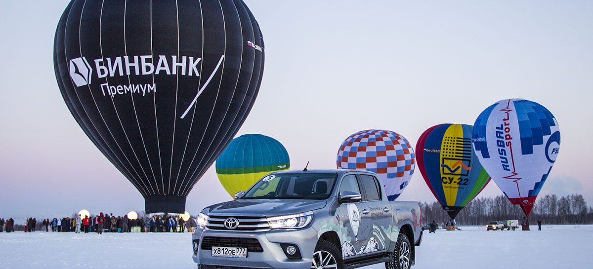 Федор Конюхов и Toyota Hilux. Три рекорда в небе.