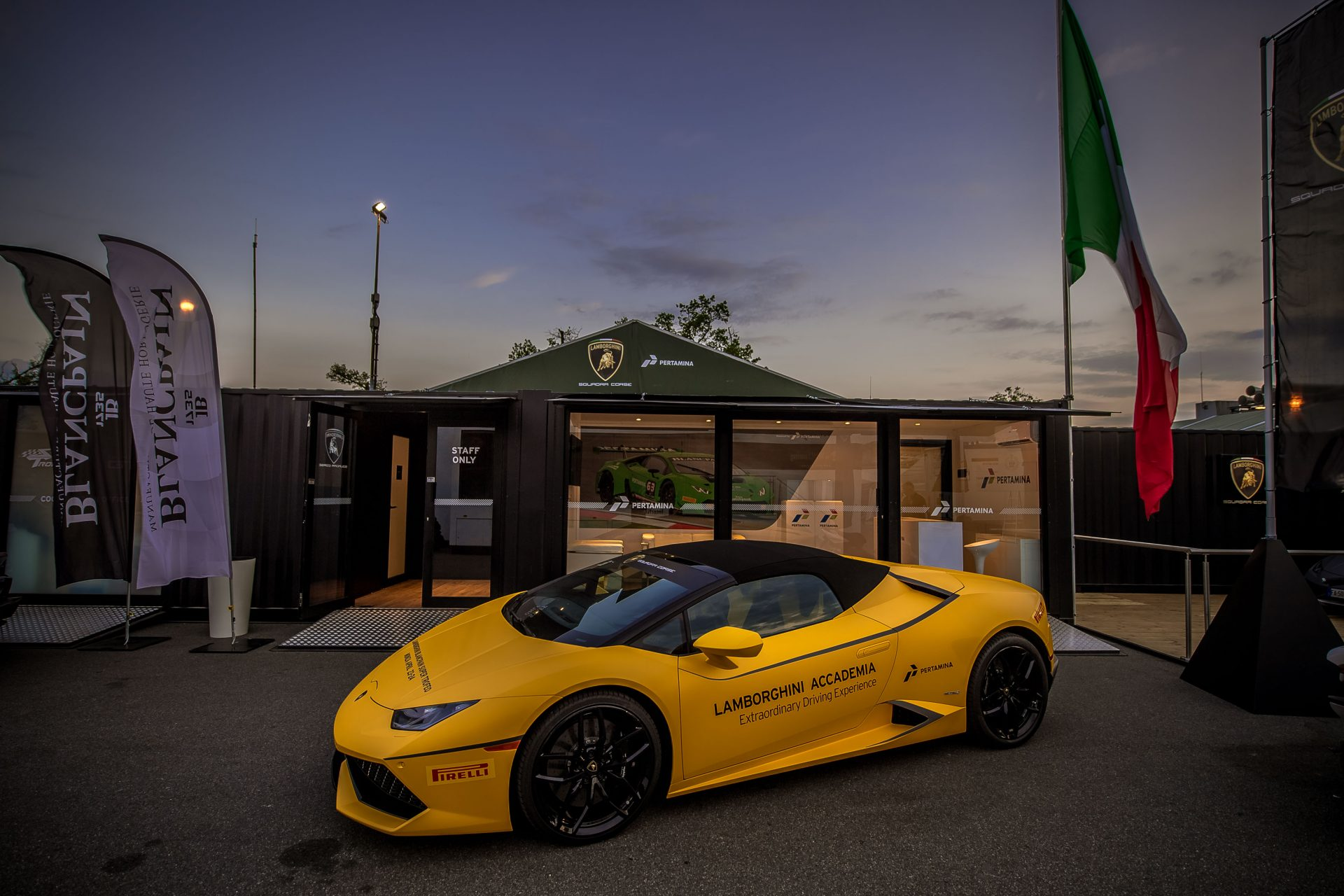 Lamborghini Super Trofeo Hospitality