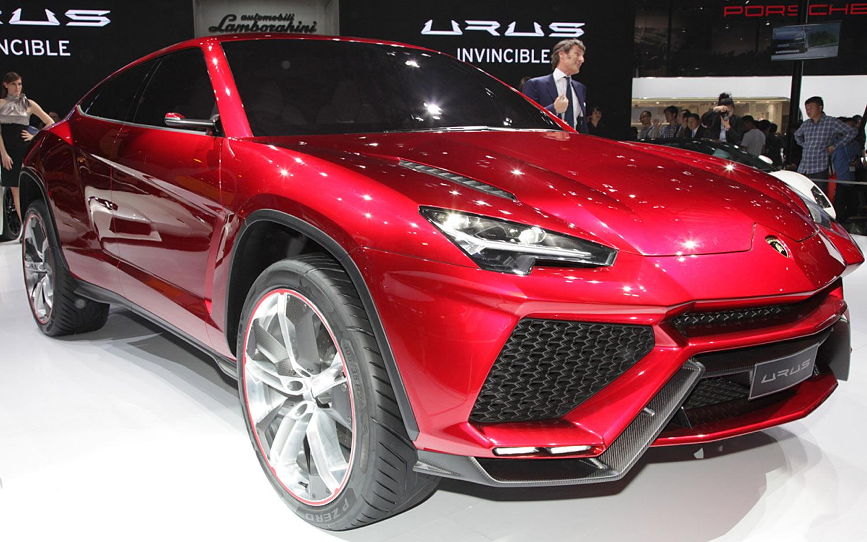 Прототип Lamborghini Urus замечен надороге