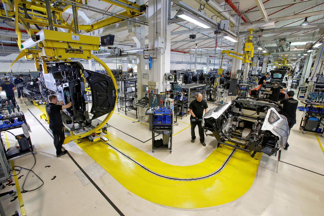 Завод Lamborghini