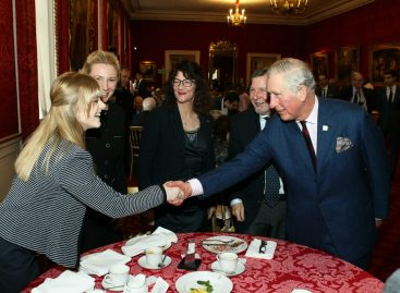 Встреча жертв Холокоста с принцем