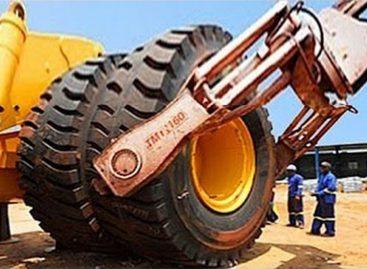Ремонт шин на БелАЗах