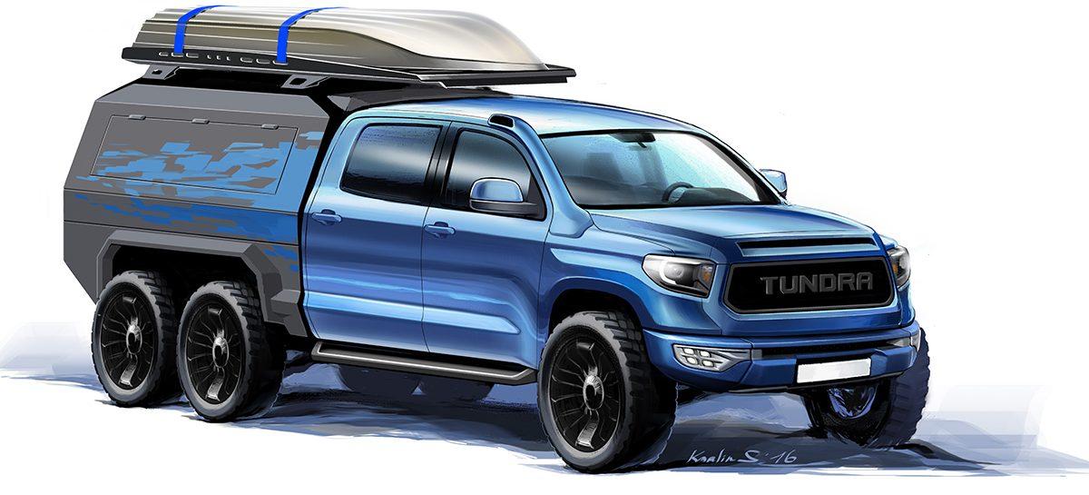 В России создадут первую в мире Toyota Tundra 6×6