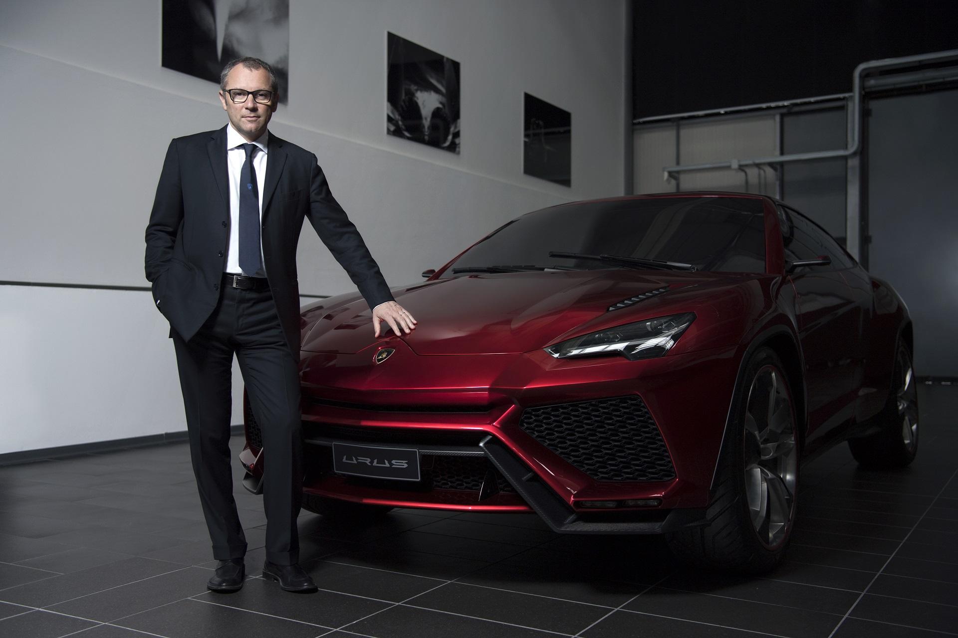 Председатель правления и генеральный директор Automobili Lamborghini Стефано Доменикали