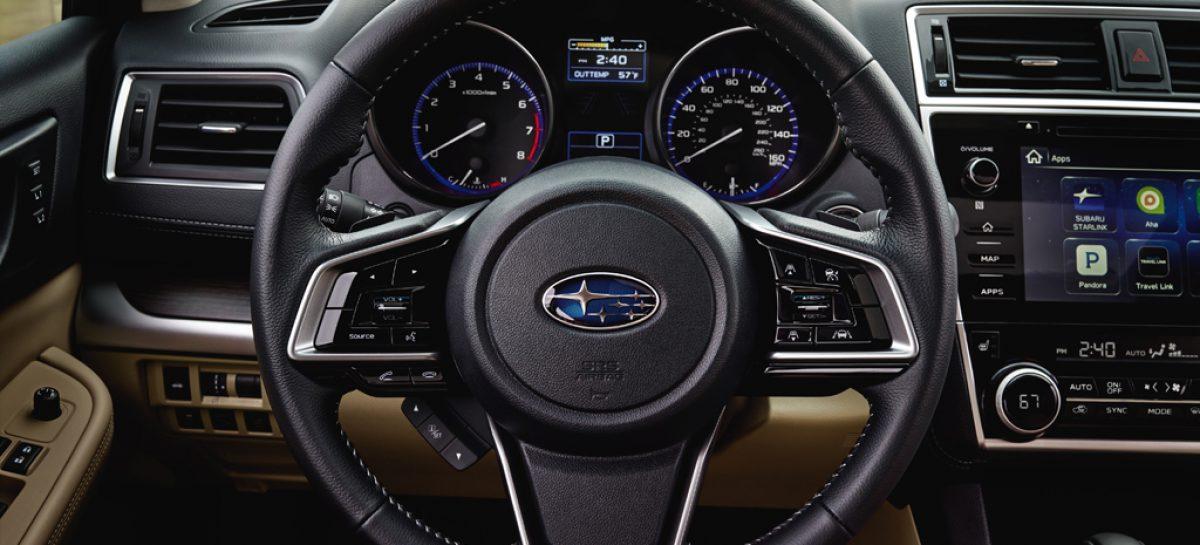 Subaru Legacy уже у дилеров
